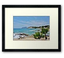 Moraira, Spain Framed Print