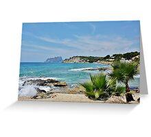 Moraira, Spain Greeting Card