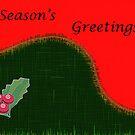 Christmas Card-Holly by sarnia2