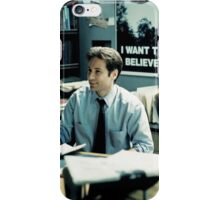 #fox Mulder - XFILES iPhone Case/Skin