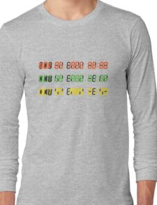 Time Circuits Long Sleeve T-Shirt