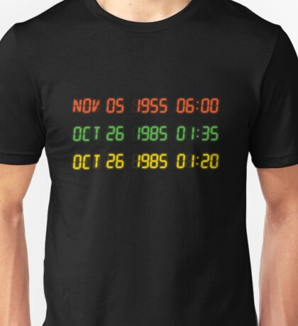 Time Circuits Unisex T-Shirt