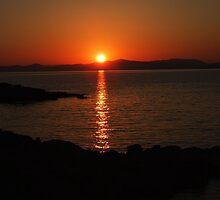 A sunset in Aegean sea by rasim1