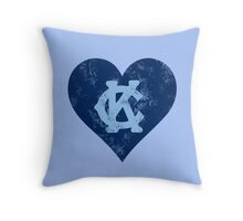 I Heart KC Throw Pillow