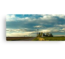 Great Plains Farmland Canvas Print