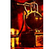 The Grinder Photographic Print