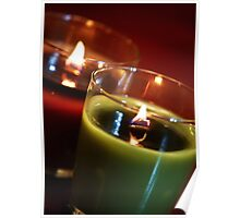 Holiday Candles 2 Poster