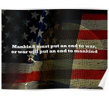 An End To War Poster