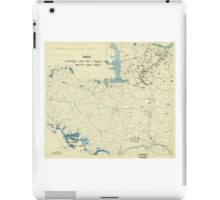 World War II Twelfth Army Group Situation Map August 8 1944 iPad Case/Skin