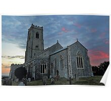 St Mary's Church Happisburgh Poster