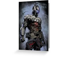 Signed Arkham Knight Greeting Card