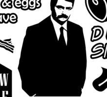 Swanson Quotes Sticker