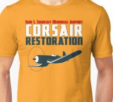 Sikorsky Memorial Airport Corsair Restoration Unisex T-Shirt