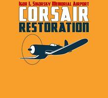 Sikorsky Memorial Airport Corsair Restoration Unisex T-Shirt