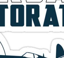 Sikorsky Memorial Airport Corsair Restoration Sticker