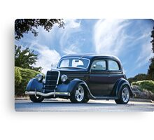 1935 Ford 'Tudor' Sedan Canvas Print