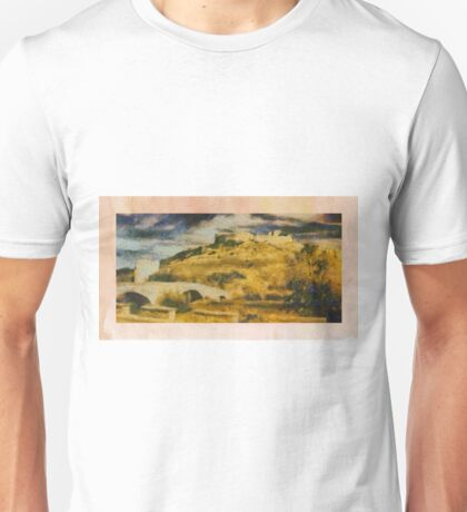 Castles of Europe by Pierre Blanchard Unisex T-Shirt