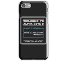 The Death Star Canteen iPhone Case/Skin
