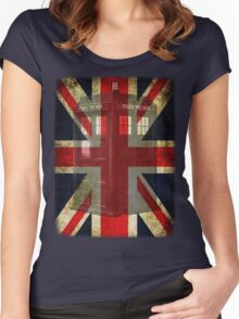 Union Tardis Women's Fitted Scoop T-Shirt