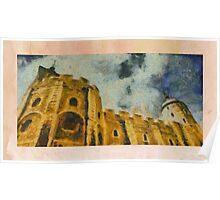 Castles of Europe by Pierre Blanchard Poster