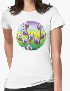Spring at Dusk Womens Fitted T-Shirt