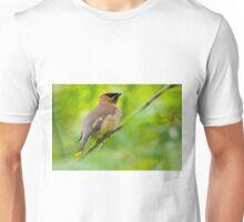 Cedar Waxwing Unisex T-Shirt