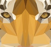 Low poly Tiger Sticker
