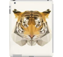 Low poly Tiger iPad Case/Skin
