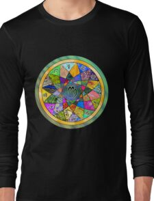 VIRGO Tapestry of Life Mandala Long Sleeve T-Shirt