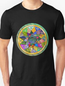 VIRGO Tapestry of Life Mandala T-Shirt