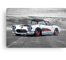 1958 Corvette 'Sharky' Roadster Metal Print