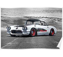 1958 Corvette 'Sharky' Roadster Poster