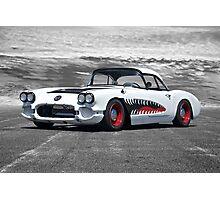 1958 Corvette 'Sharky' Roadster Photographic Print