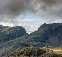 Scafell and Scafell Pike by VoluntaryRanger