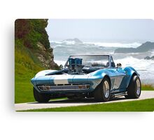 1965 Corvette Convertible Stingray Canvas Print