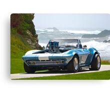 1965 Corvette Convertible Stingray Canvas Print