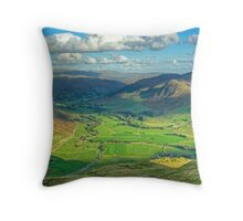 The Langdale Valley Throw Pillow
