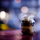 glass jar@night by waitin' for rain