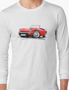 Triumph Spitfire Mk4 Red Long Sleeve T-Shirt