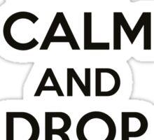 Keep calm and drop another ball Sticker