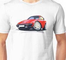 Triumph TR7 FHC Coupe Red Unisex T-Shirt
