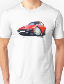 Triumph TR7 FHC Coupe Red T-Shirt
