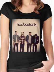 Hoobastank Women's Fitted Scoop T-Shirt