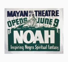 WPA United States Government Work Project Administration Poster 0360 Mayan Theatre Noah Inspiring Negro Spiritual Fantasy One Piece - Short Sleeve
