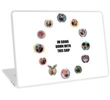 TW Ship Alliance Circle Laptop Skin