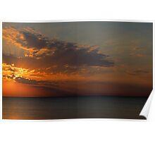 A Lake Huron Dawn Poster