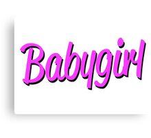 babygirl Canvas Print