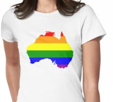 Australia Gay Marriage Design Womens Fitted T-Shirt