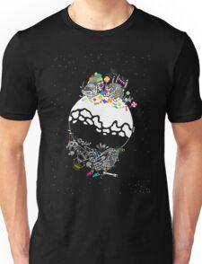 Good Santa, Evil Santa Unisex T-Shirt