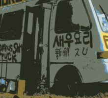 Famous Kahuku Shrimp Truck Sticker
